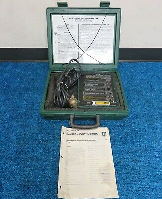 Caterpillar 6v-2150 Charging/starting Analyzer