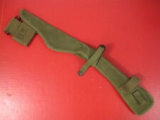 post-WWII US Army M1910 Pick & Mattock Canvas Carrier Cover - OD - Dated 1951