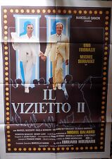manifesto movie poster 2F Il vizietto II Édouard Molinaro ugo tognazzi serrault