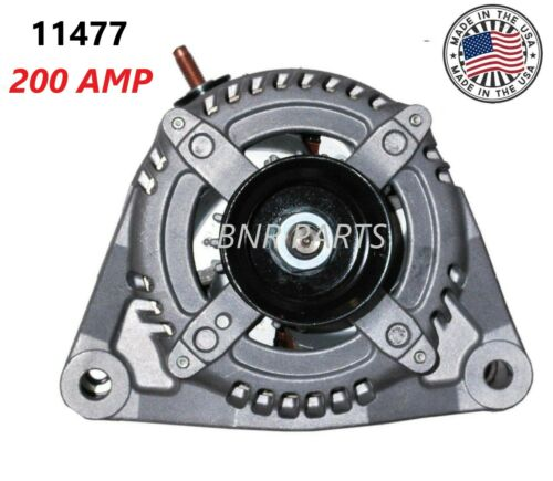 200 AMP 11477 Alternator Dodge Ram 1500 2500 3500 4500 5500 NEW High Amp HD