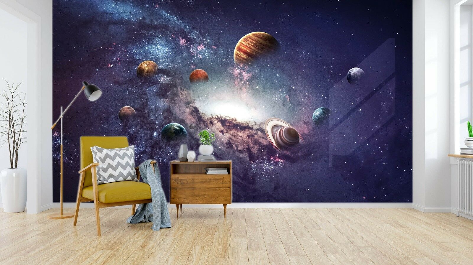 3D Universe Galaxy Planet 52 Wall Paper Wall Print Decal Wall Deco Indoor Murals