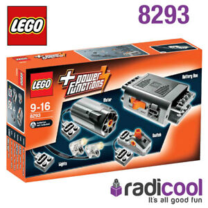 8293-LEGO-Power-Functions-Motor-Set-TECHNIC-Age-9-16-10-Pieces-New-In-Box
