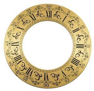 ZIFFERBLATTRING-D-130-Zifferblatt-Reif-f-Tischuhr-Kaminuhr-Uhr-clock-dial