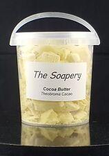 Cocoa Butter - 500g -  Unrefined Pure Natural Raw Moisturiser Cream Food Skin