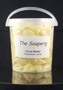 Cocoa-Butter-500g-Unrefined-Pure-Natural-Raw-Moisturiser-Cream-Food-Skin