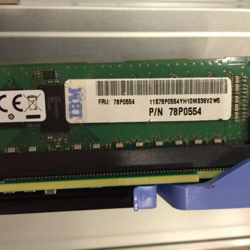 IBM 78P0554 4GB 1066MHz PC3-8500 DDR3 ECC RDIMMs POWER7 Memory 31f3
