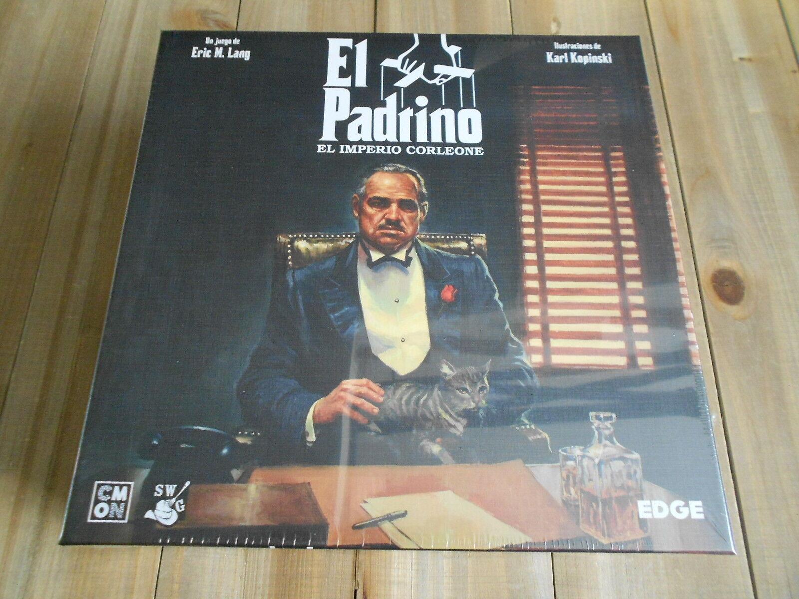 Juego de mesa EL PADRINO - El Imperio Corleone - EDGE - Precintado - Temático