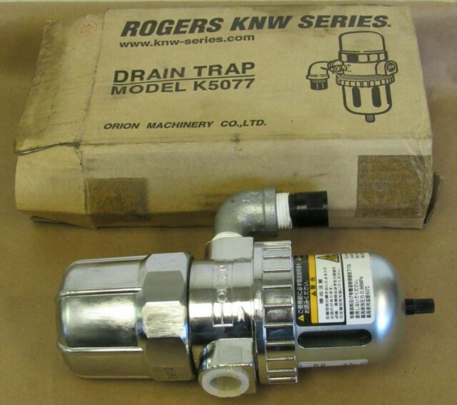 ROGERS KNW SERIES DRAIN TRAP MODEL K5077, ORION MACHINERY CO  LTD
