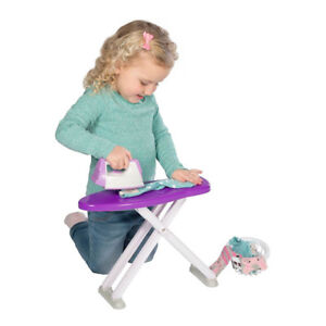 Casdon 614 Toy Wash Day Set Rotary Airer Ironing Board Iron Laundry Basket NEW 5011551006149