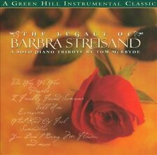 Legacy of Barbara Streisand * by Tom McBryde (CD, Apr-2009, CMD/Green Hill)