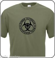 'Zombie Outbreak Response Team' Adult T Shirt