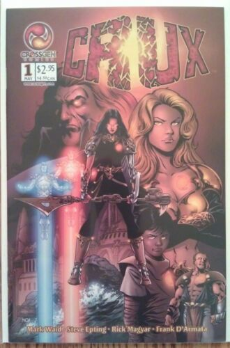 """Crux"" complete unread Mark Waid & Steve Epting series, CrossGen Comics"