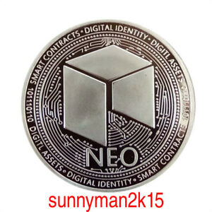 NEO-Silver-Plated-Commemorative-Physical-Coin-Collection-Gift