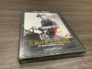 Il Valle Della Vendetta DVD Burt Lancaster Robert Walker Sigillata Nuovo
