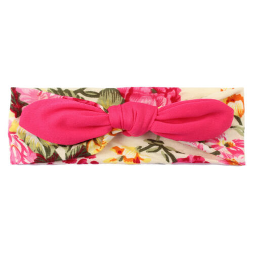 Princess Baby Kids Girls Rabbit Bow Ear Hairband Headband Knot Head Wraps