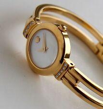 MOVADO Women's Watch, HARMONY model, 88.A1.809 S, GOLD with DIAMONDS, Gorgeous!