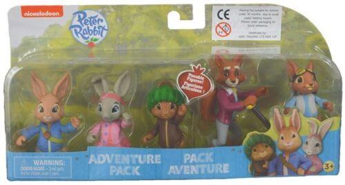 PETER RABBIT /& AMIS figurines Adventure Set avec articulées bras Nick Jr Kids Toys