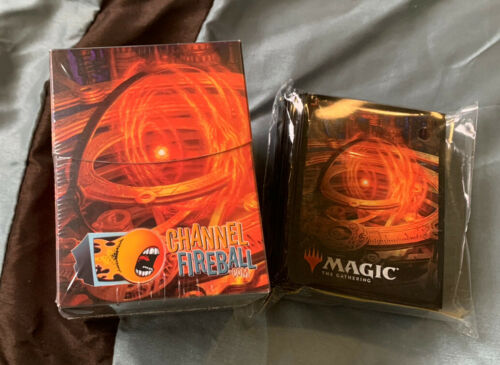 MTG Sol Ring MagicFest Sleeves 100 count and Deck Box BRAND NEW Art