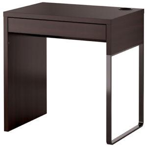 ikea micke computertisch pc schreibtisch b ro tisch b rotisch schwarzbraun neu ebay. Black Bedroom Furniture Sets. Home Design Ideas