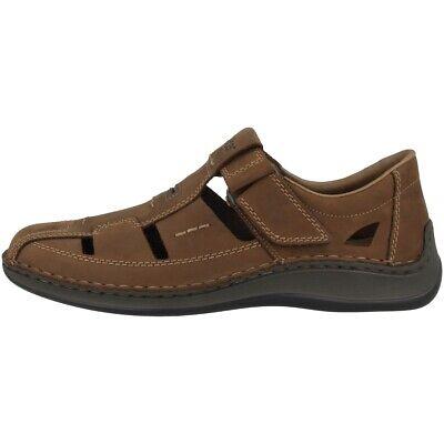 Sandalen Willensstark Rieker Katar Sandale Herren Slipper Freizeit Antistress Schuhe Brown 05284-25