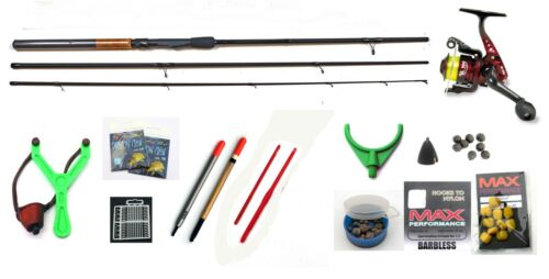 Wayahead Big Value Start up Coarse fishing kit Rod,Reel,floats,shot,line,caty