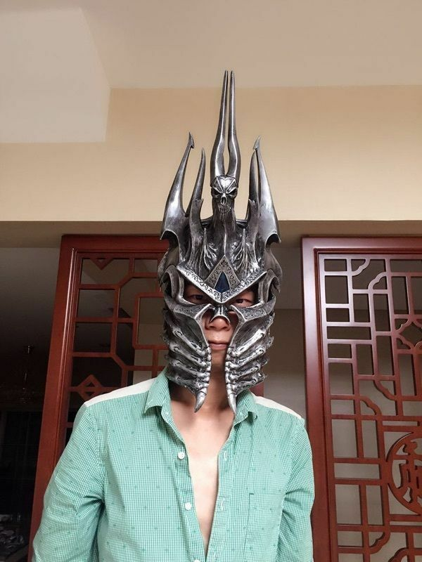 WOW Helm of Domination Lich King Death Knights Helmet Limited 99