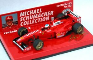 Minichamps-Michael-Schumacher-Collection-1-43rd-Scale-Ferrari-F1-Modell-Rennwagen