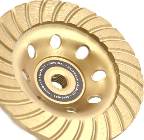 Diamant Schleiftopf Schleifteller PROFI H00121 125mm M14
