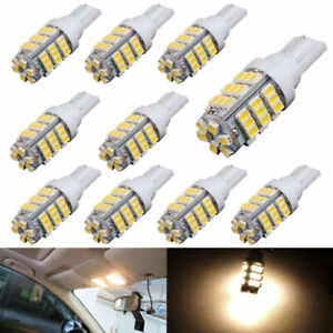 10Pcs-Warm-White-T10-921-194-RV-Car-42-SMD-DC-12V-Backup-Reverse-LED-Light-Bulb