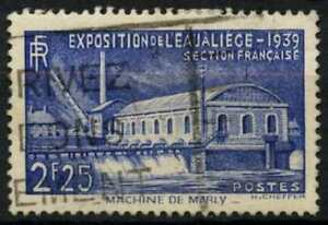France-1939-SG-644-Water-Exhibition-Used-D61925