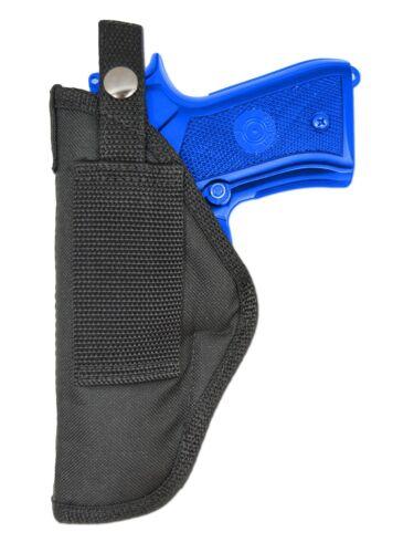 Colt Full Size 9mm 40 45 New Barsony OWB Gun Belt Loop Holster for Browning