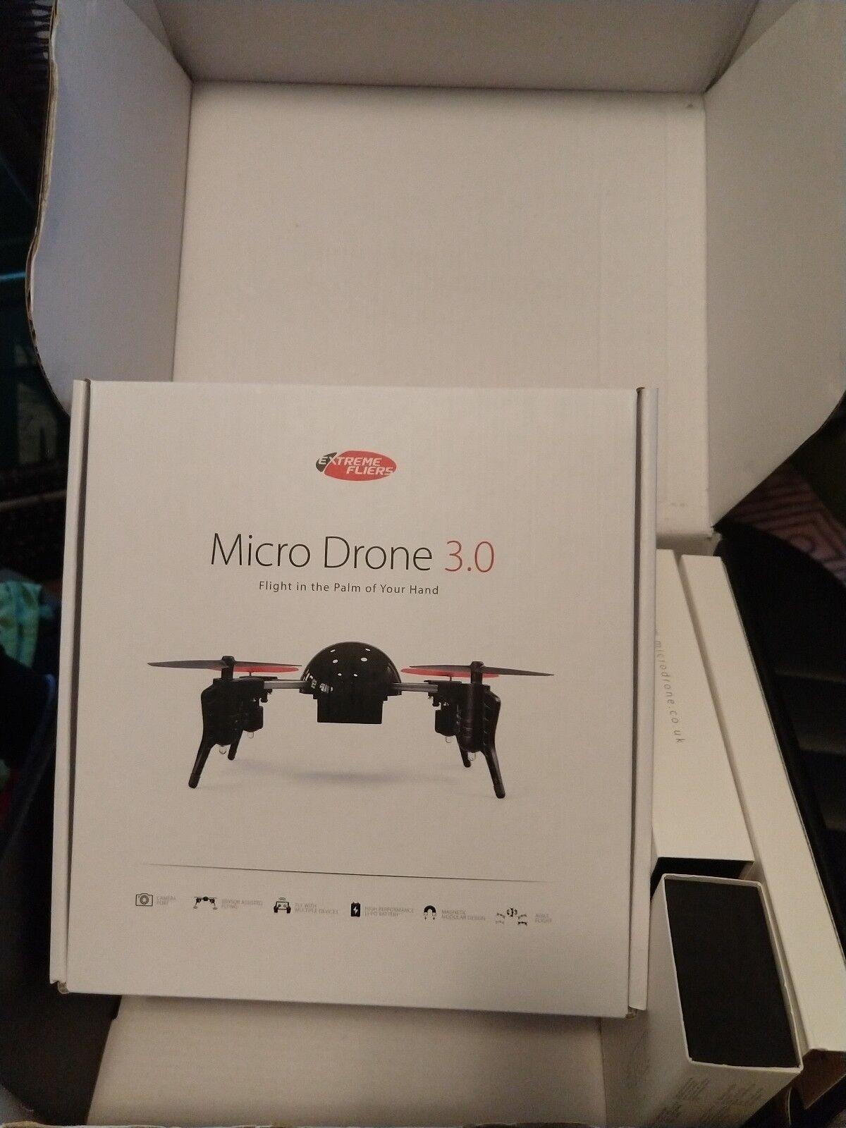 Drone  Micro Drone 3.0 con video grabadora Nunca Usado