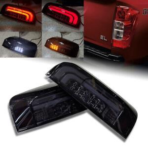 Smoke Dark Black Tail Light Lamp For Nissan Frontier
