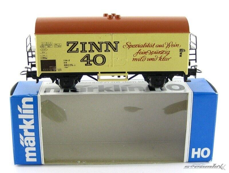 Märklin 83058 4415 H0  SoMo Kühlwagen Zinn Zinn Zinn 40 Wein der DB mit OVP X00001-06686  | Online Shop  b6bc7b