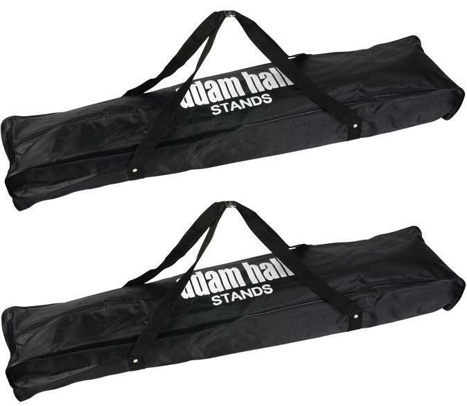 2 ST Carry Bag for each 2 Microphone Stands Adam Hall Transport Bag Tripod Bag