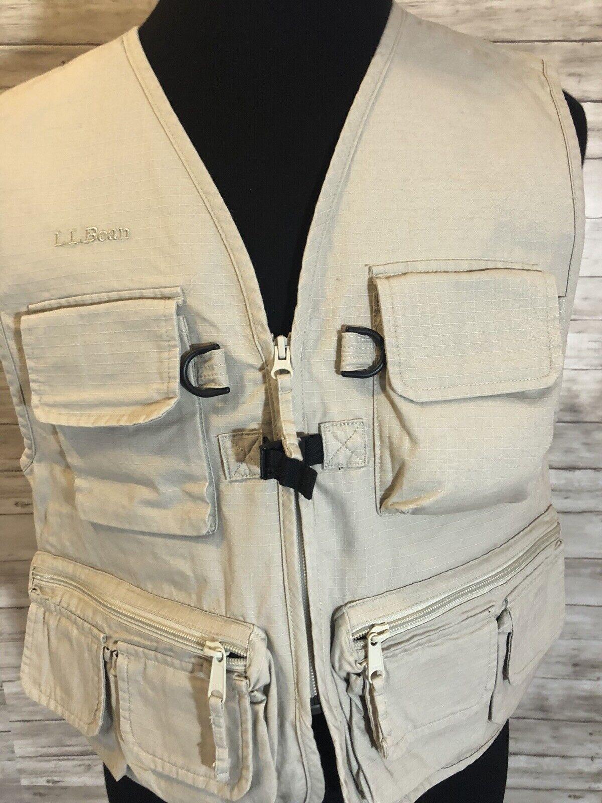 Nuevo Nuevo con etiquetas Llbean Ll Bean Chaleco  de pesca con mosca para hombres Camisa De Caza Pequeño S emerger N28  Con precio barato para obtener la mejor marca.