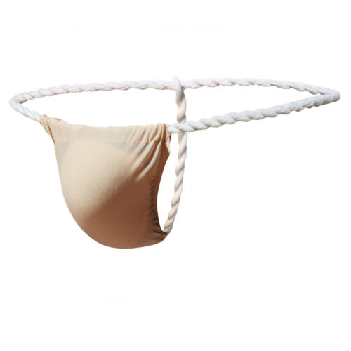 Men G-String Thong Bulge Pouch Panties Micro T-back Underwear Pants Brief Bikini
