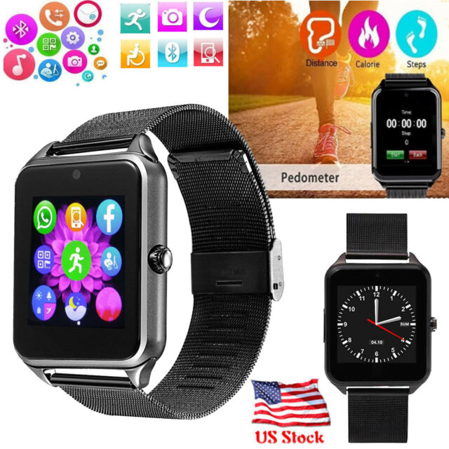 Sport Bluetooth Smart Watch for Android Samsung S7 S8 S9 LG G5 G6 Q6 Q7 HTC  M10