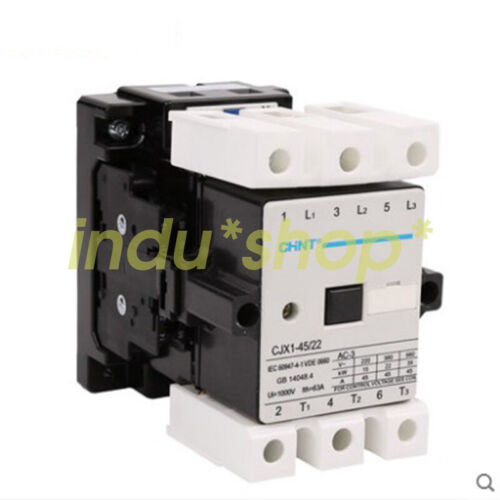 1PCS for Chint AC Contactor CJX1-45//22 220V 45A