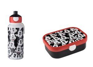 MEPAL-Pausenset-Campus-Kinder-Pop-up-Trinkflasche-Brotdose-Motiv-Mickey