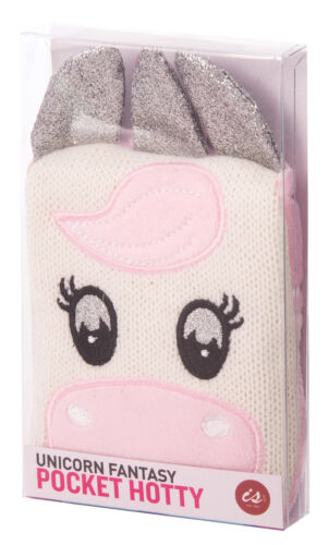 UNICORN Details about  /POCKET HOTTY Cute Soft Touch Cover Pocket Reusable Hand Warmer **NEW