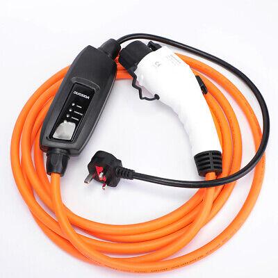 Type 1 5m EV Charging Cable Citroen Berlingo UK plug