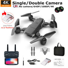 1080p-K2 Drone GPS WIFI FPV 4K HD Dual Camera Foldable Selfie RC Quad copter TOY