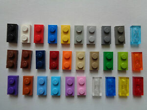 6x Bracket 1x2-1x2 support 90° noir//black 99781 NEUF Lego