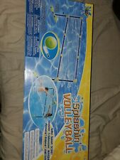 SwimWays Poolside 24/' Volleyball Net Swimming Pool Water Game Set00801