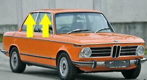 BMW-E10-Regenrinne-rechts-Zierleiste-Chromleiste-1502-bis-2002-Tii-2002-turbo
