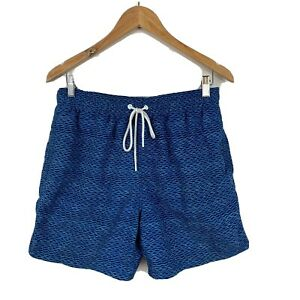 RODD-amp-GUNN-Mens-Board-Shorts-Swim-Shorts-Trunks-Size-Large-Blue