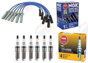 NGK PLATINUM Spark  Plugs /& NGK Wire Set 2001-2006 Dodge Grand Caravan 3.3L 3.8L