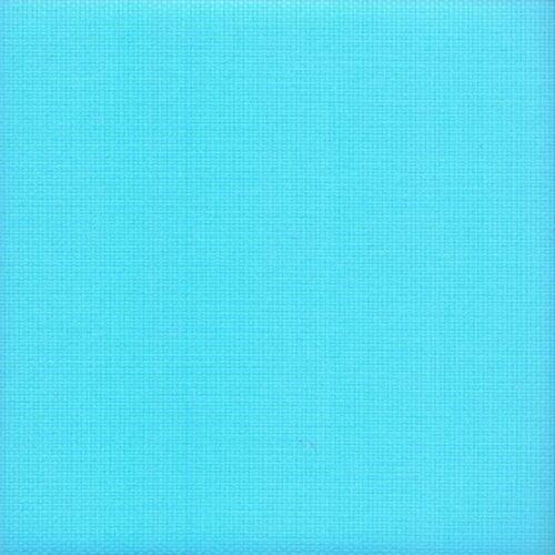 14 cuenta Aida Zweigart cross stitch tela turquesa tamaño 49 X 54cms