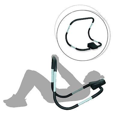 HOMCOM Bauchtrainer Bauchmuskeltrainer AB Roller Bauch Trainer Fitnessgerät Neu